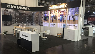 CHAINWAY Company's Stand at EUROCIS DUSSELDORF / GERMANY